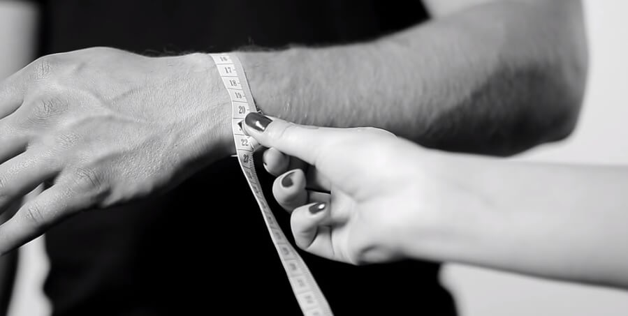 Kaip išmatuoti riešą?