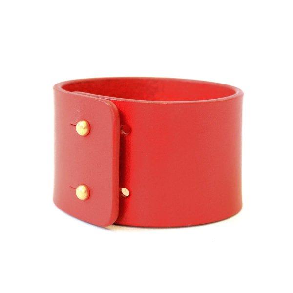 Apyrankė odinė RED Wide