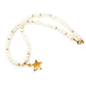 Perlų Vėrinys Su Žvaigždute