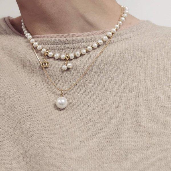 Dviejų dalių perlų vėrinys